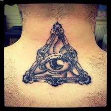 тату око в треугольнике всевидящее око студия гнозис астрология и