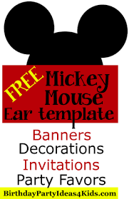 mickey head template printable mickey mouse ears printable template mickey mouse ears pattern