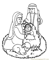 Small Picture Religious Christmas Coloring Page 03 Coloring Page Free Angel