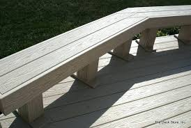 deck benches wood deck bench amazing composite outdoor bench deck benches composite deck bench view on
