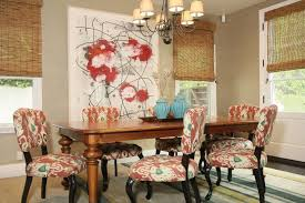 Patterned Dining Chairs Best Ikat Dining Chairs Contemporary Dining Room Jenn Feldman Designs