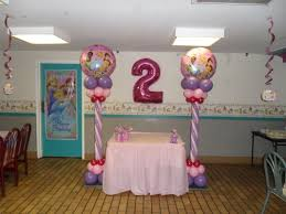 Disney princess balloon columns: DISNEY PRINCESS PARTY - DECORATIONS BY TERESA