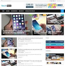blogger seo friendly templates tech news free seo friendly and responsive blogger template free