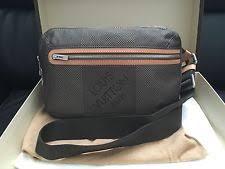 louis vuitton bags for men. authentic men louis vuitton damier fanny \u0026 waist packs bag cross body new in box louis vuitton bags for men