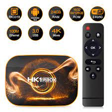 HK1 RBOX R1 Smart TV Box Android 11.0 UHD 4K Media Player RK3318 4GB 128GB  2.4G/5G WiFi BT4.0 100M LAN 4GB 32GB 64GB Set Top Box|Set-top Boxes