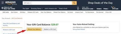 amex gift card on amazon