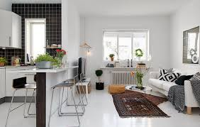Living Room And Kitchen Design For Small Spaces