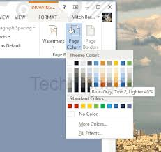 Word Backgrounds Word 2016 How To Set Background