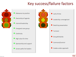 key success and failure factors wenger trayner key success and failure factors