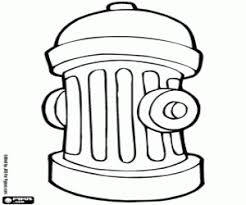 Small Picture Fire hydrant coloring page printable game