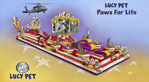 Rose Bowl Float Decorating Rules Lucy Pet Paws For Life Honoring Pet Heroes Who Have Saved Human 60