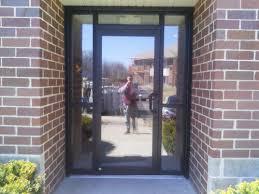 business glass front door. Business Glass Front Door And Commercial Building Exterior Racine WI S