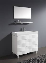 bathroom modern white. Popular Architecture Unique Modern White Bathroom Cabinets Vanity For Designs 7