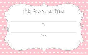 collection of printable gift certificate for house cleaning