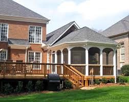 Design Decks And Porches Staggering Porch Deck Home Design Eas With Brick Wall And