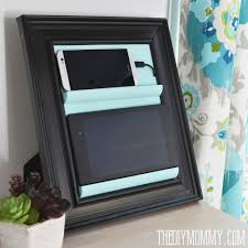 diy tablet phone holder and charging station 2 1000x1000