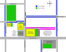 Parking Map Playhouse On The Square Memphis