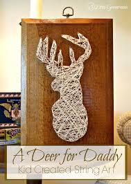 How To Do String Art Diy String Art Deer