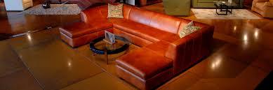custom leather sofas