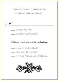 Wedding Invitation Insert Wording Wedding Invitation Insert For