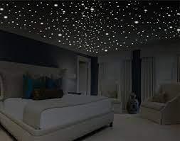 romantic bedroom decor star wall decal