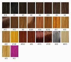 Quick And Easy Hair Color Chart Easy Hairstyles Hair
