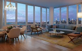 Living Room Furniture Long Island Long Island City Luxury Rentals 1 Qps Tower