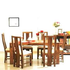 rustic wood dining table set round dinning wooden outdoor
