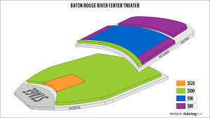 Baton Rouge River Center Theater For Performing Arts Seating