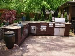 Prefabricated Outdoor Kitchen Kits Prefab Outdoor Kitchen Kits Black Ceramic Countertop Stainless