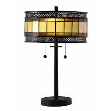 Ophelia Tiffany Style 16 Inch 1 Light Geometric Table Lamp Dome Tiffany Table Lamps Find Great Lamps Lamp Shades