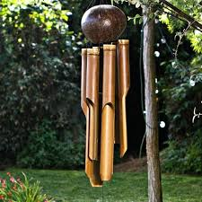 natural bamboo wind chime chimes meaning my spirit garden bamboo wind chimes