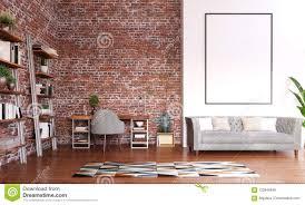 Office Photo Frame Design Mock Up Frame In Home Office Design Modern Workspace Room
