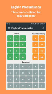 • dialectal and individual differences affect pronunciation, but the sounds of english are: English Pronunciation Ipa 44 Phonemic Sounds For Android Apk Download