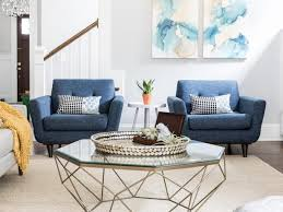 transitional living room furniture. Transitional Living Room With Blue Hues Furniture