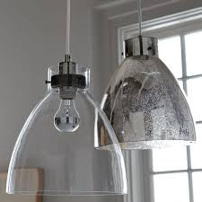 image of industrial pendant lighting glass