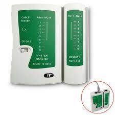 Professional <b>Network Cable Tester RJ45</b> RJ11 RJ12 CAT5 UTP ...