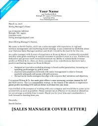 Sample Cover Letter Sales Manager Case Manager Cover Letter Sample Case Manager Cover Letter Sales