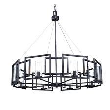 black iron lighting post modern black iron art and 8 clear glass shades chandelier 1 regarding black iron lighting captivating wrought iron chandeliers