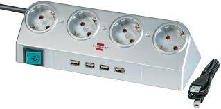 1153540134 <b>Brennenstuhl</b> удлинитель <b>Desktop</b>-<b>Power</b>, 1,8 м.,4 ...