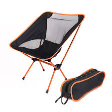 marvelous chair one compact folding camp black orange moon chairin for camping ideas and tall styles