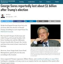 Image result for photos of soros losing money