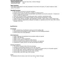 Sample Resume For Line Cook line cook sample resumes Funfpandroidco 34