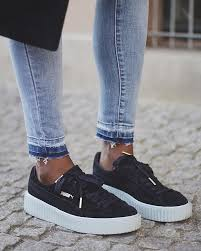 puma shoes for girls rihanna. rihanna puma creepers in black shoes for girls