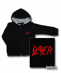 Slayer Logo Kinder Sweater/Kapuzenjacke. Metal-Kinder