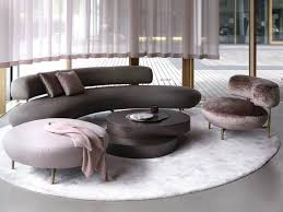 Sofa With Couch Designs Seductive Curved Sofas For A Modern Living Room Design