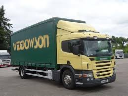 a m mercials ltd s 18 tonne scania p230 curtain side on hgvtraders