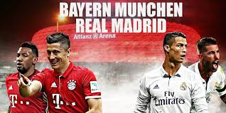 Image result for bayern munchen vs real madrid