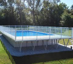 square above ground pool. Above Ground Pools Square Pool V