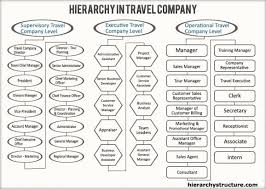 Hierarchy In Travel Company Travel Companies Company
